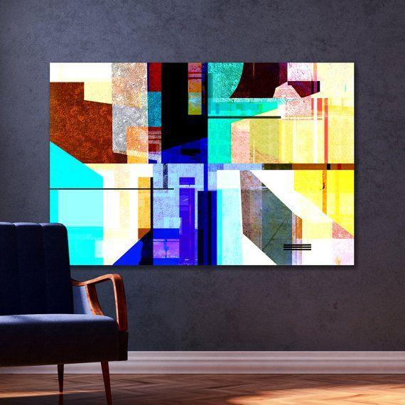 Abstract art print golden colors large wall decor giclee bronze beige pinterest also rh