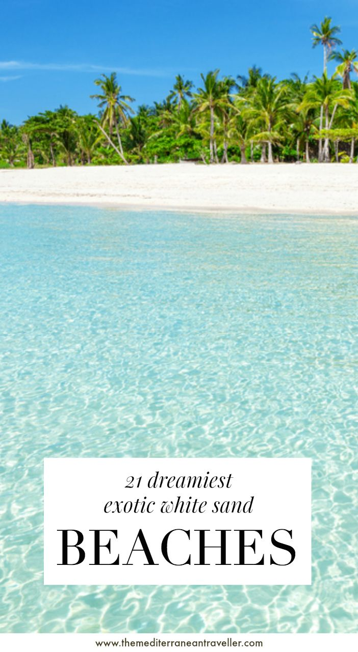 Photo of 21 Best White Sand Beaches in the World