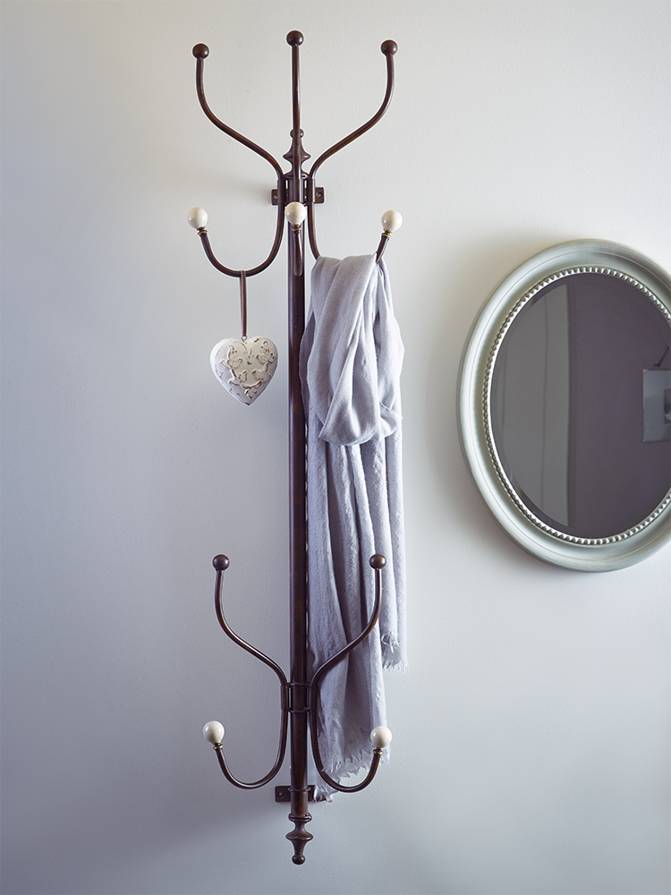Wall Mounted Coat Rack. Hallway ...