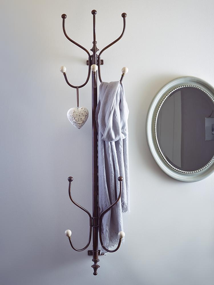 wall mounted coat rack wall. Black Bedroom Furniture Sets. Home Design Ideas