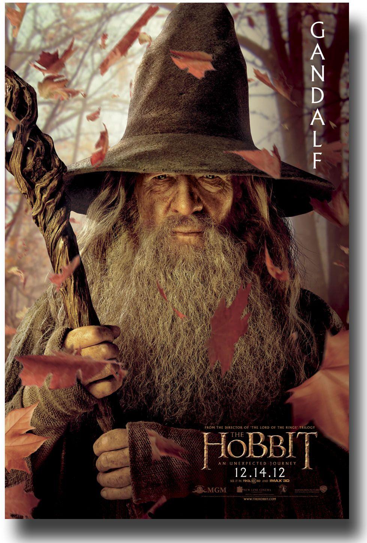 Cartel De El Hobbit Un Viaje Inesperado Con Gandalf Libros - Sad production hobbit reveals something never imagine