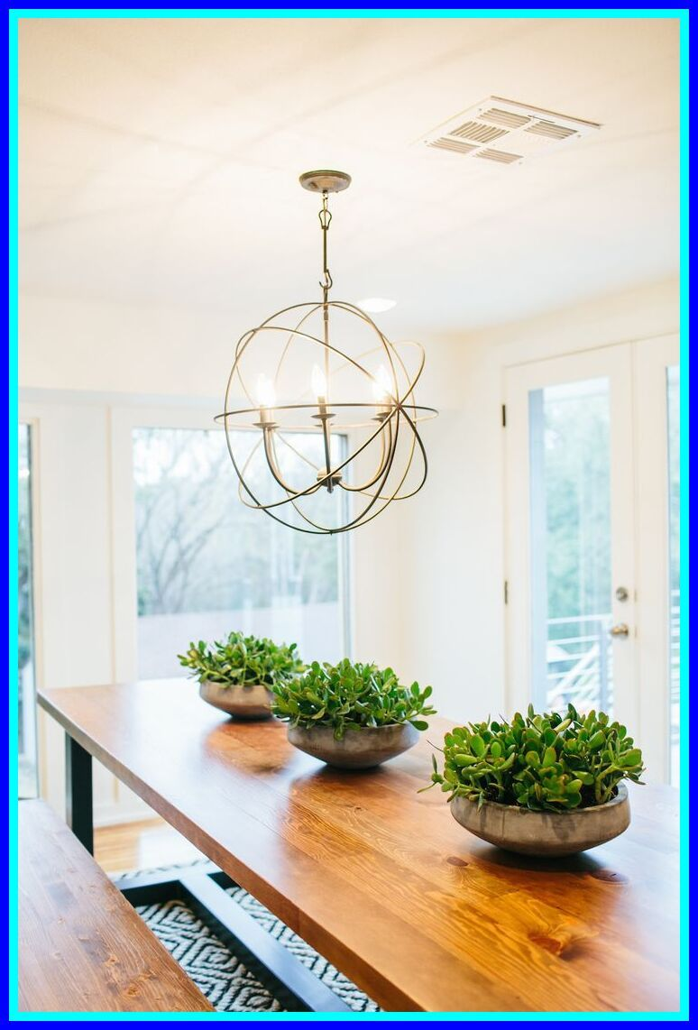 103 Reference Of Magnolia Home Cement Lamp Dining Room Centerpiece Dining Room Table Centerpieces Kitchen Table Centerpiece