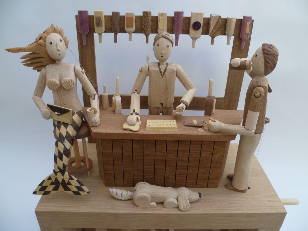 Wanda Sowry Automata - Home | ::TOY | Pinterest | Toy, Kinetic art ...