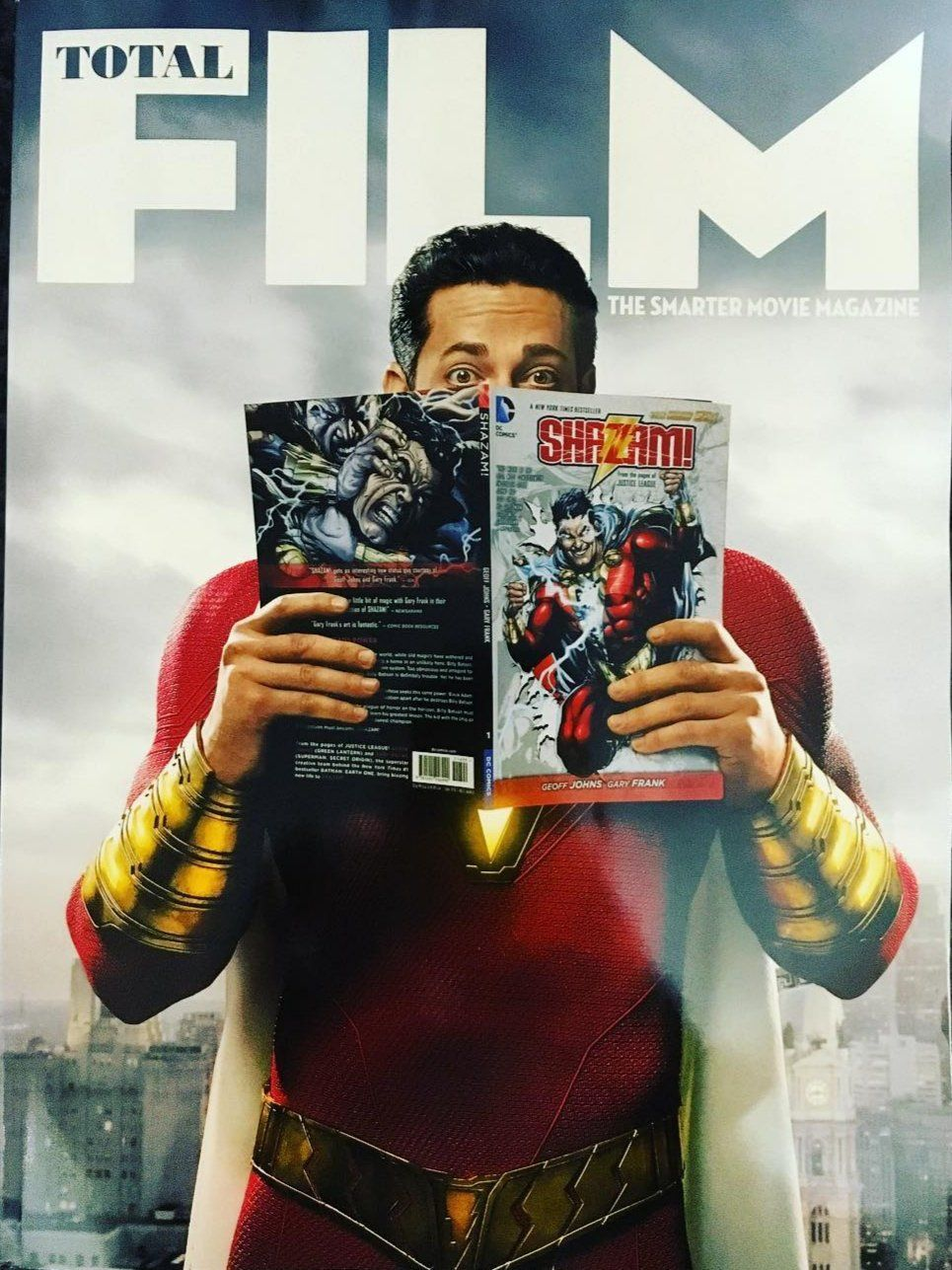 Shazam Cover For Total Film Movies Pinterest Cómics And Galerías