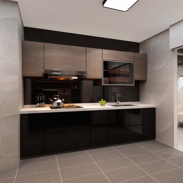 Modern Kitchen Designer Singapore: Interior Design Singapore