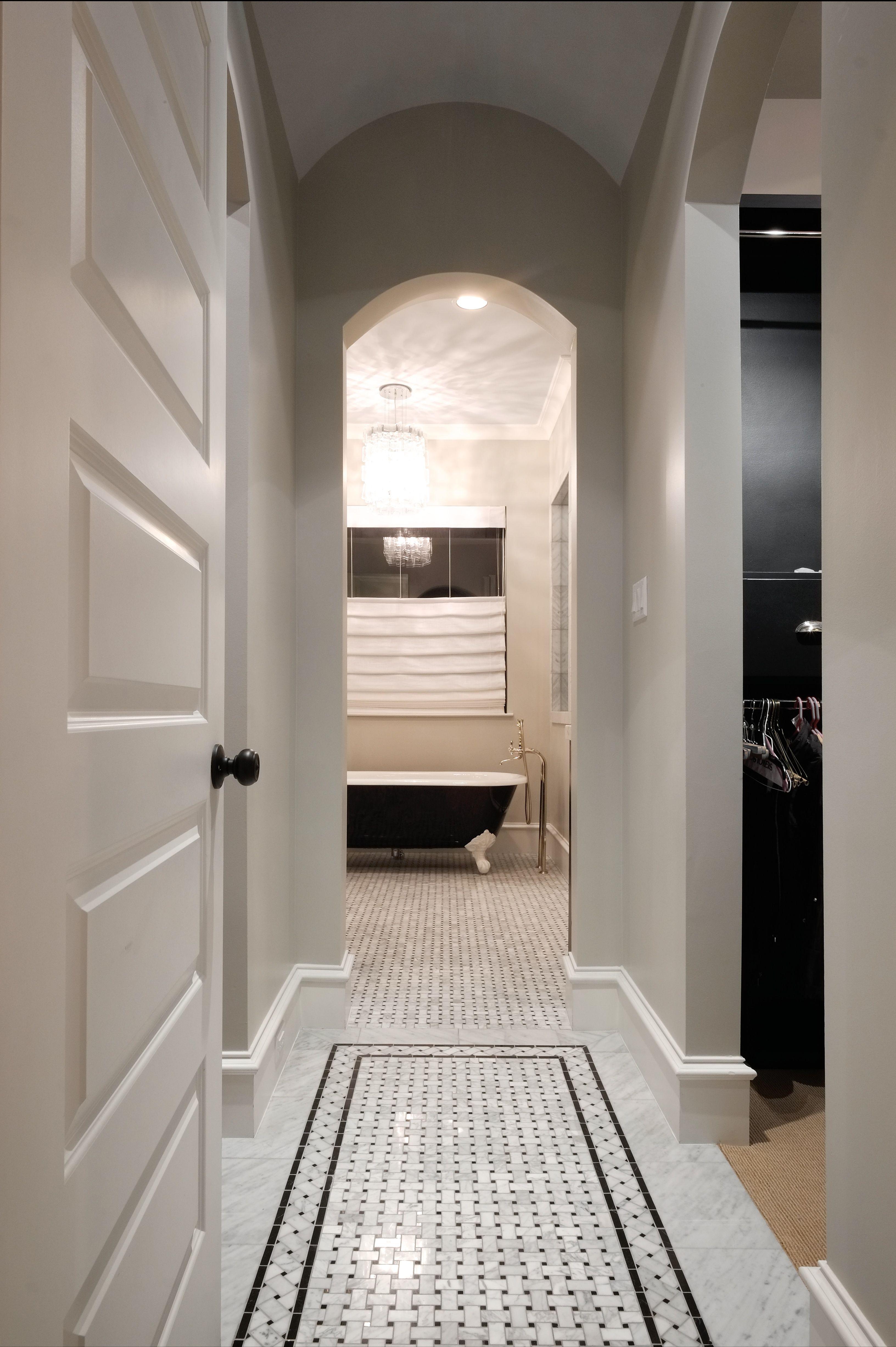 Master bedroom hallway  Master Bedroom hallway to closet u bathroom  Bathroom  Pinterest