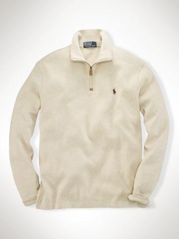 c48f8c70a Dad French-Rib Half-Zip Pullover - Polo Ralph Lauren Sweatshirts -  RalphLauren.com