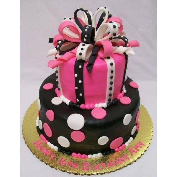Girls Birthday Cakes Found On Polyvore