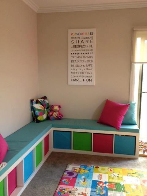 Playroom Seats Google Search Kids Room Organization