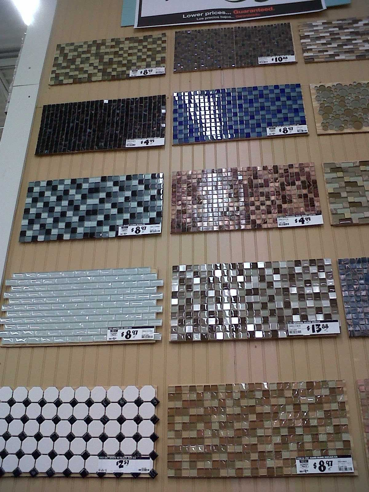 I Love These Tile Backsplash Options From Home Depot I Like The