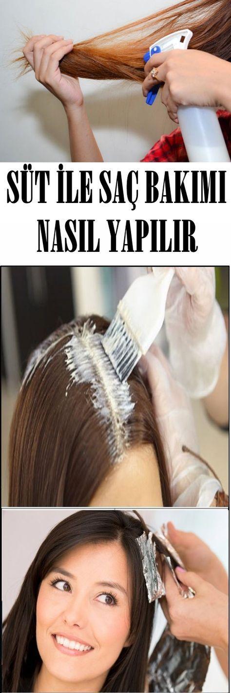 How To Do Hair Care With Milk Sutle Sac Bakimi Nasil Yapilir