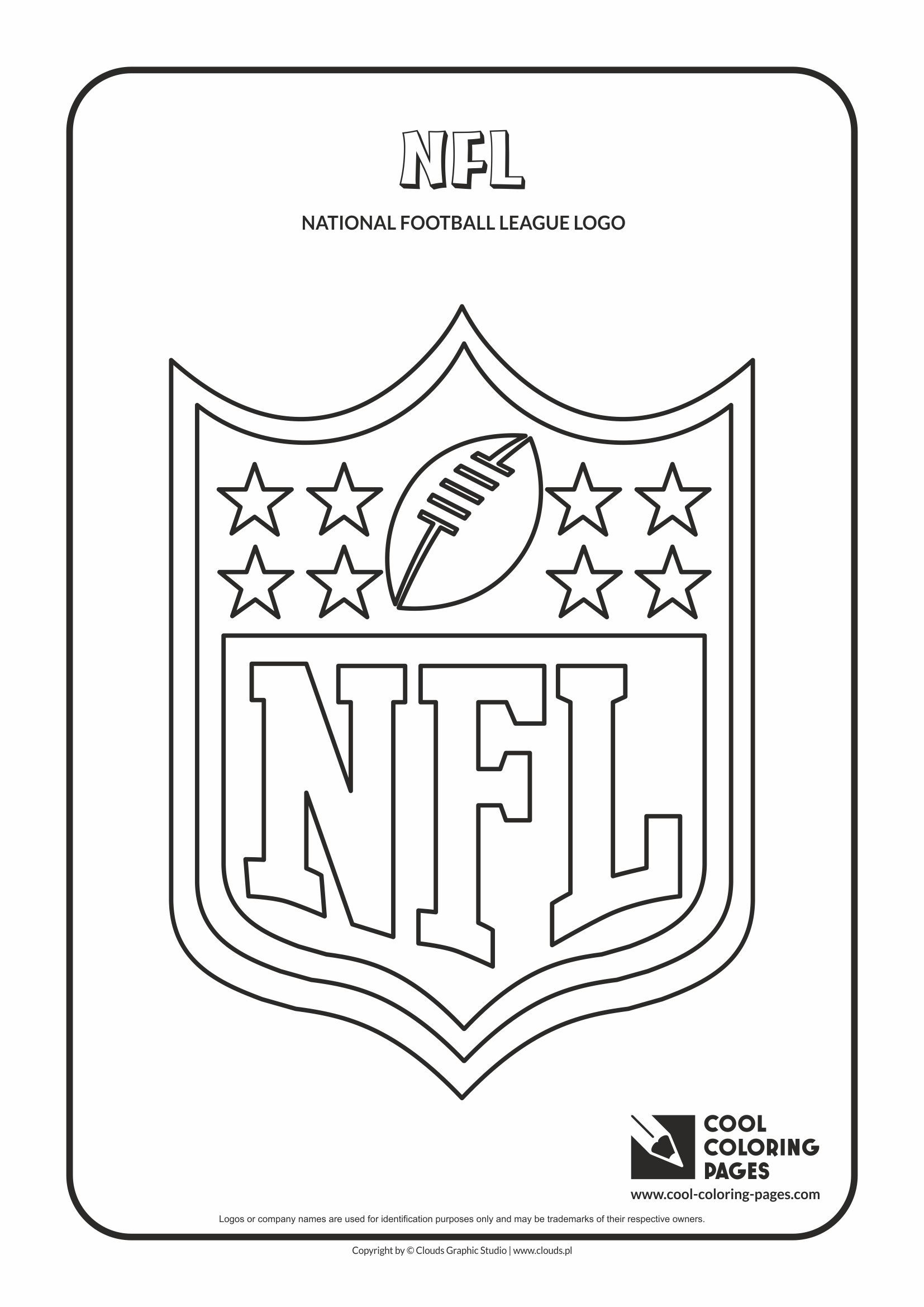 Nfl Logo Coloring Pages For 2019 Http Www Wallpaperartdesignhd Us Nfl Logo Coloring Pages For 2019 47182 Football Coloring Pages Nfl Logo Nfl Teams Logos