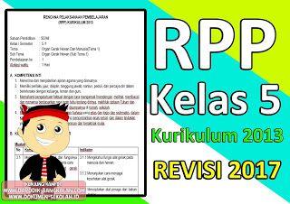 Download Rpp Kelas 5 Kurikulum 2013 Revisi 2017 Kurikulum Pendidikan Belajar