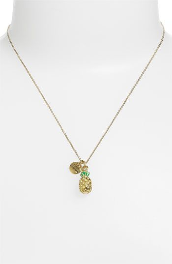 Juicy Couture 'Creatures of Paradise - Mini Wish' Pineapple Pendant Necklace | Nordstrom