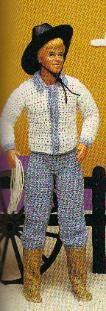 Barbie and Ken Cowboy Free Crochet Patterns