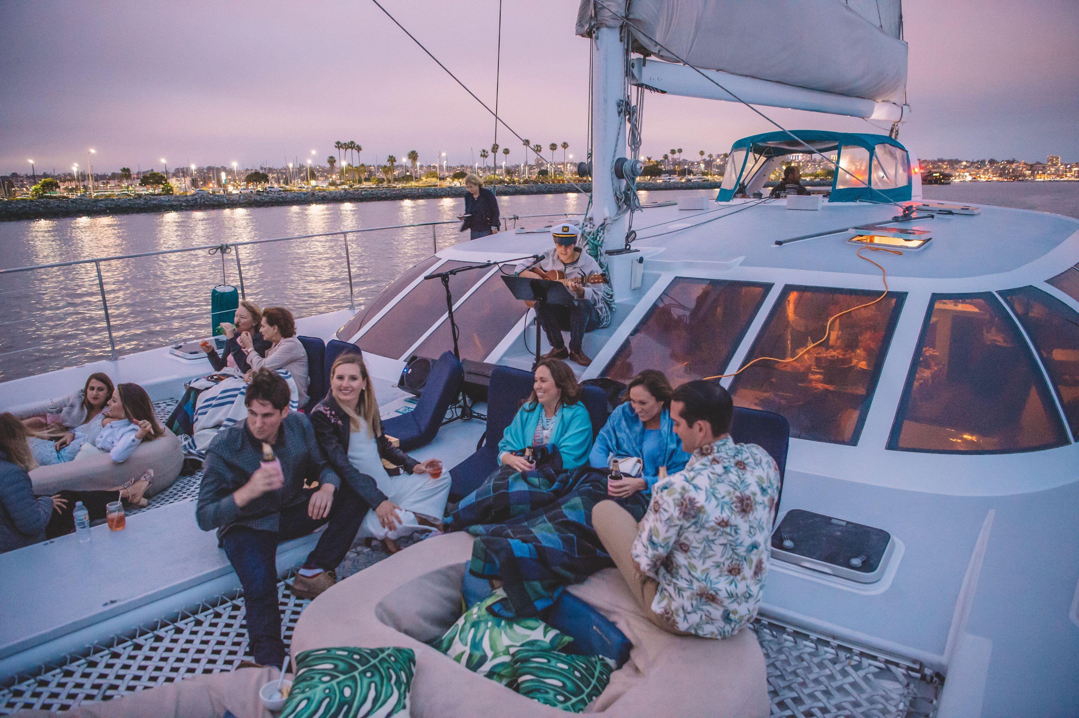 Aolani catamaran private event in san diego ca photo by