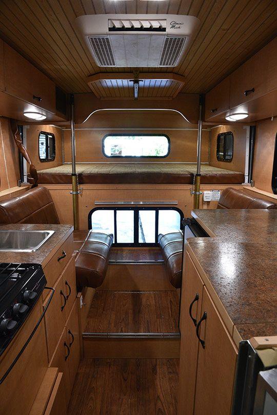 Alaskan Camper Review Truck Camper Shells Camper Interior Pop