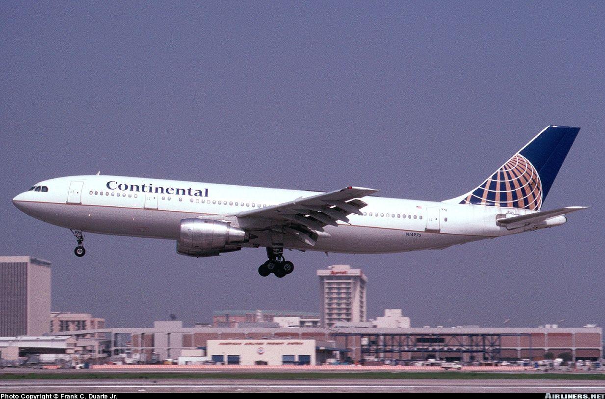 Airbus A300B4203, Continental Air Lines, N14975, cn 261