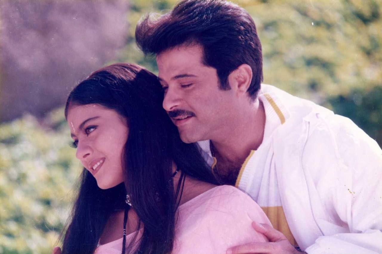 Kajol & Anil Kapoor / Hum Aapke Dil Mein Rehte Hain   BOLLYWOOD