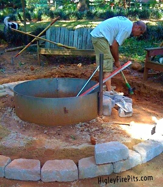 Steel Fire Pit Ring Liners Higley Metals builds mild steel and