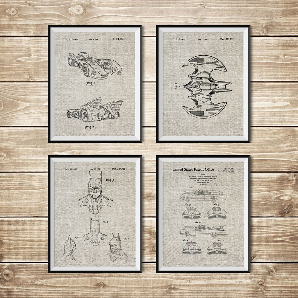 Batman printable patent print group batman blueprint batman batman printable patent print group batman blueprint batman posters patent print setbatman art postersbatwing poster instant download malvernweather