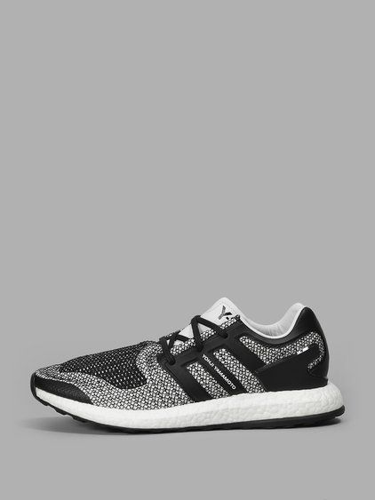 511831c70cf Y-3 Y-3 Man S Black And White Pure Boost.  y-3  shoes  sneakers