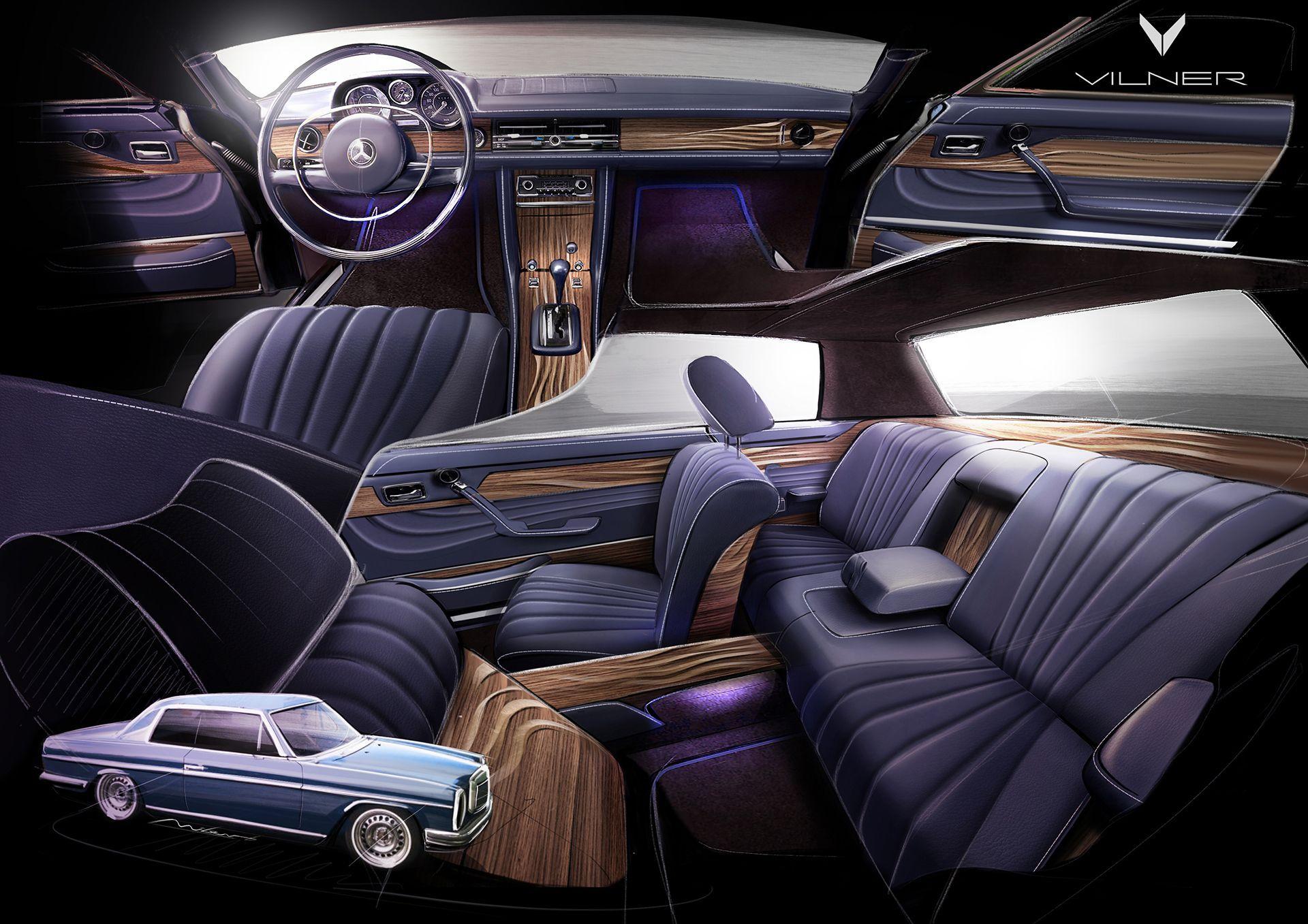 Vilner Mercedes W115 Coupe By Vilner With Images Mercedes