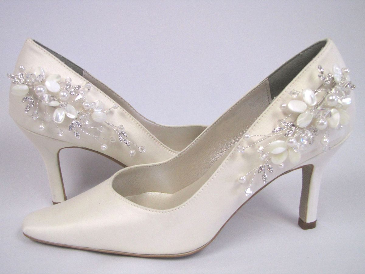 Pearl Vine Wedding Shoes Christie Anne Couture Bridal By