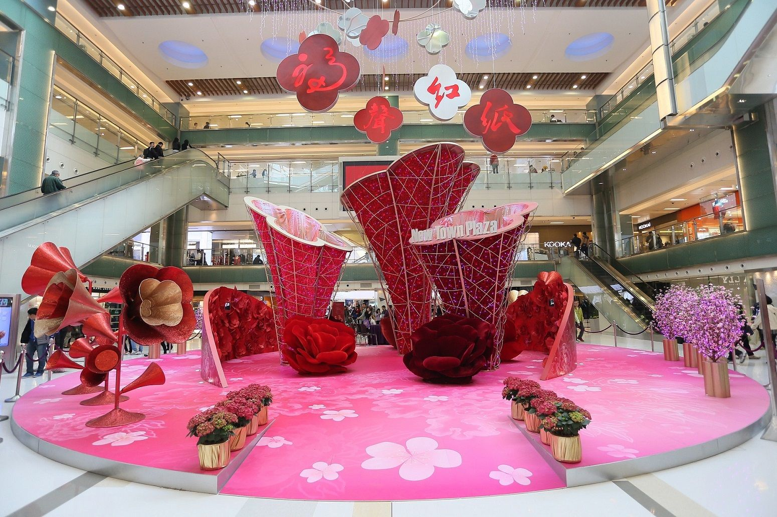 New Town Plaza_Lunar New Year decoration_1 | Chinese new ...