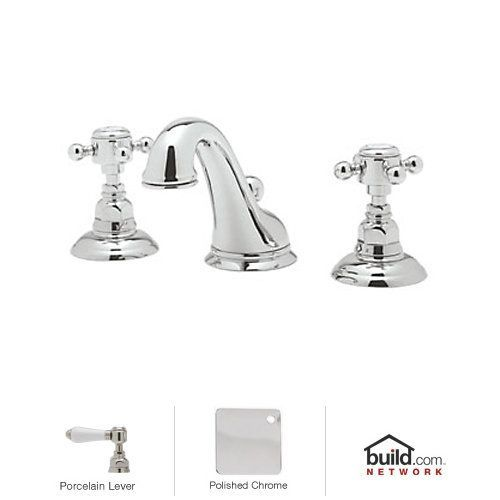 Rohl A1408lp 2 Country Bath Widespread Bathroom Faucet With Pop Up Drain And Por Polished