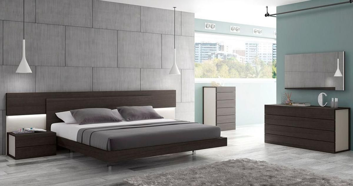 Graceful Wood Modern Contemporary Bedroom Designs Feat Light Platform Bedroom Sets Contemporary Bedroom Furniture Contemporary Bedroom Sets