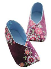 Accessory Sewing Downloads - Woman Kimono Shoes Sewing Pattern