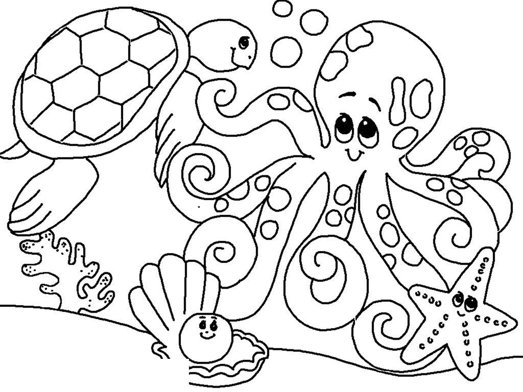 Sea Animals Coloring Pages For Kids K5 Worksheets Ocean Coloring Pages Turtle Coloring Pages Animal Coloring Books