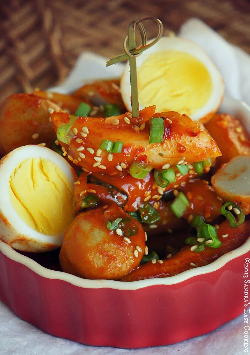 Korean spicy rice cakes korean rice and cake korean dishes forumfinder Image collections