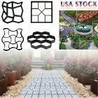 4 Styles Grip Driveway Paving Mold Patio Concrete Stone Path Walk Maker Walkway  | eBay #steppingstonespathway