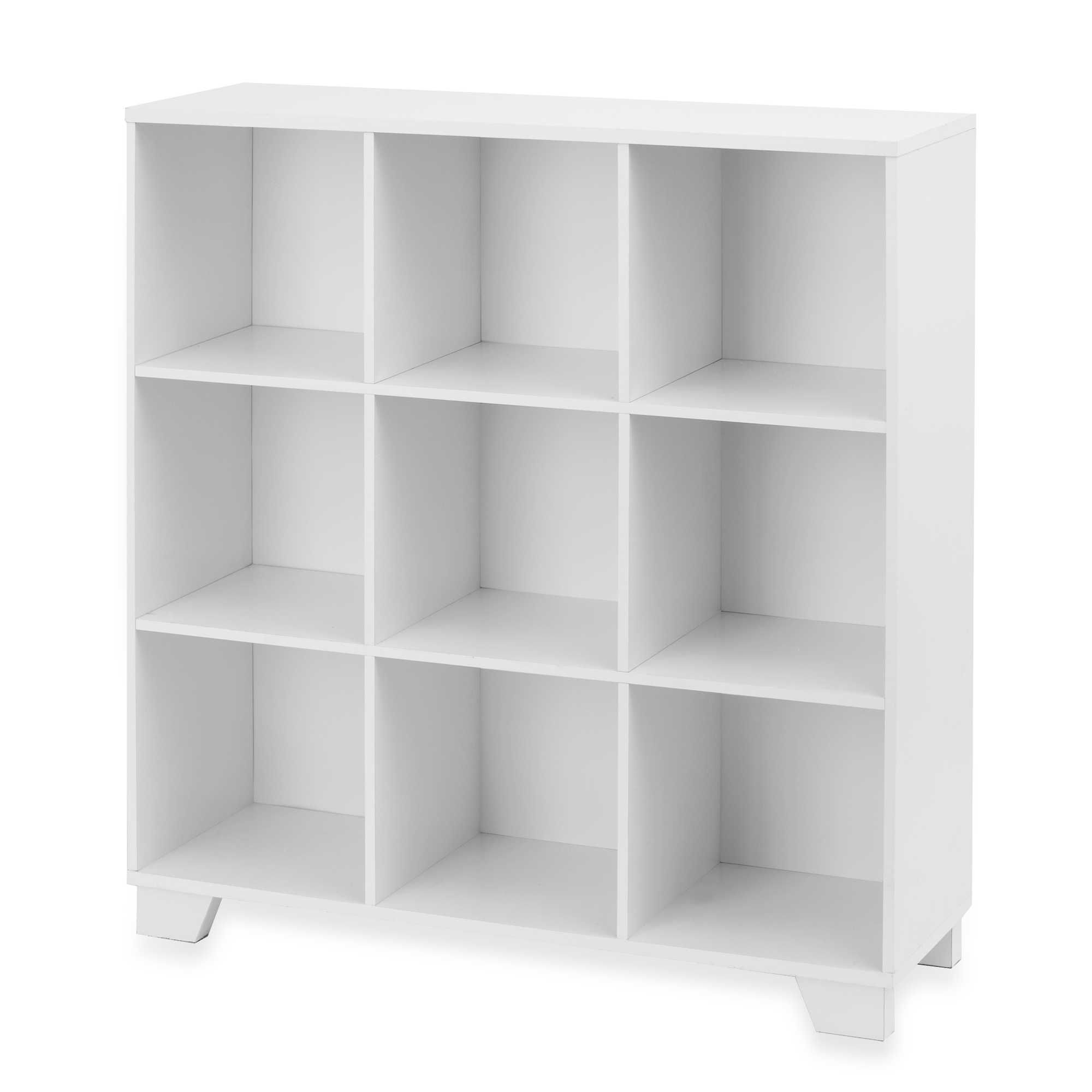 Beautiful Real Simple® 9 Cube Storage Unit In White Invoice Storage Cube (for Intern