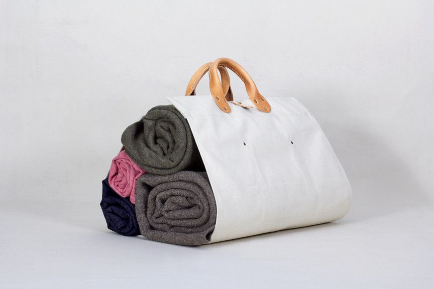 WS + CampWell Log Tote - Natural Canvas – Winter Session