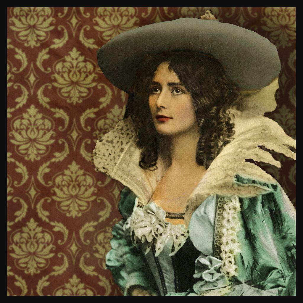 Cleo de Merode colorized photo | Vintage photography, Vintage portraits,  Vintage photos