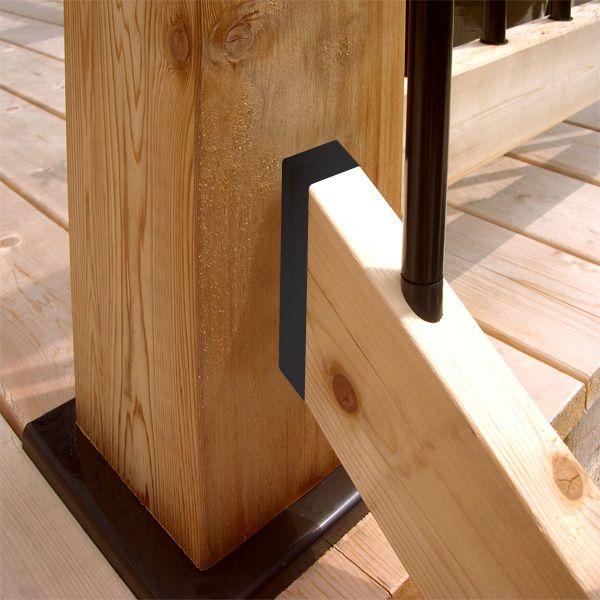 Best Rail Connector Stairs Hidden Fastener For 2X4 Rails 400 x 300
