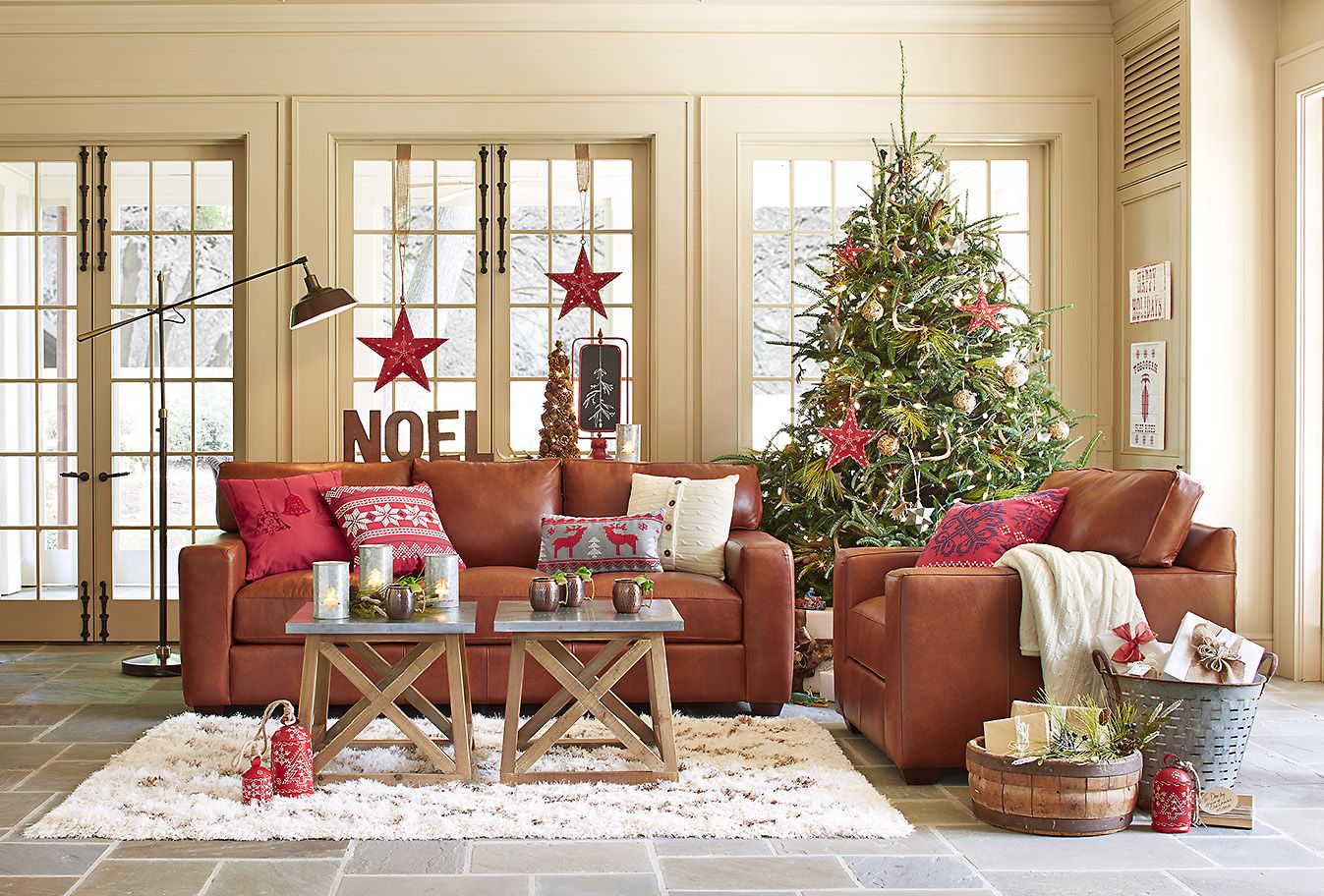 Nothing says cozy quite like a warm living room all ...