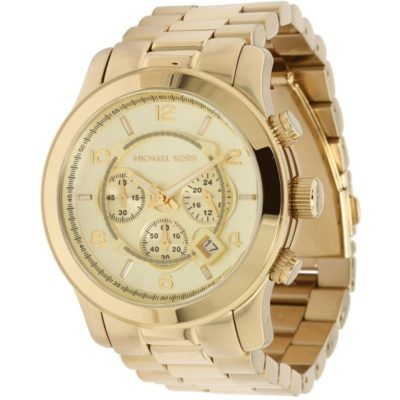 modelos de relogios michael kors feminino dourado   relógio ... 36b0c88b92