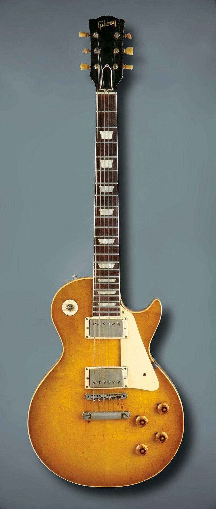 1959 Gibson Les Paul #gibsonguitars