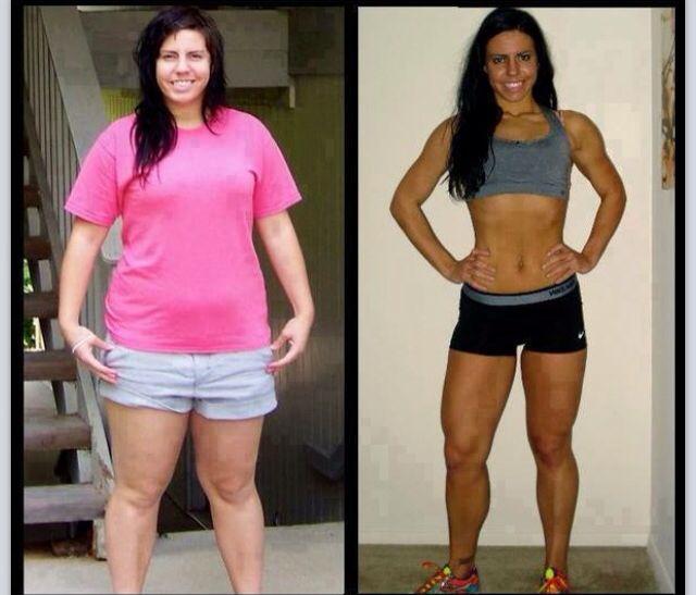 Amazon Transformation Fitness Motivation Perda De Peso Antes