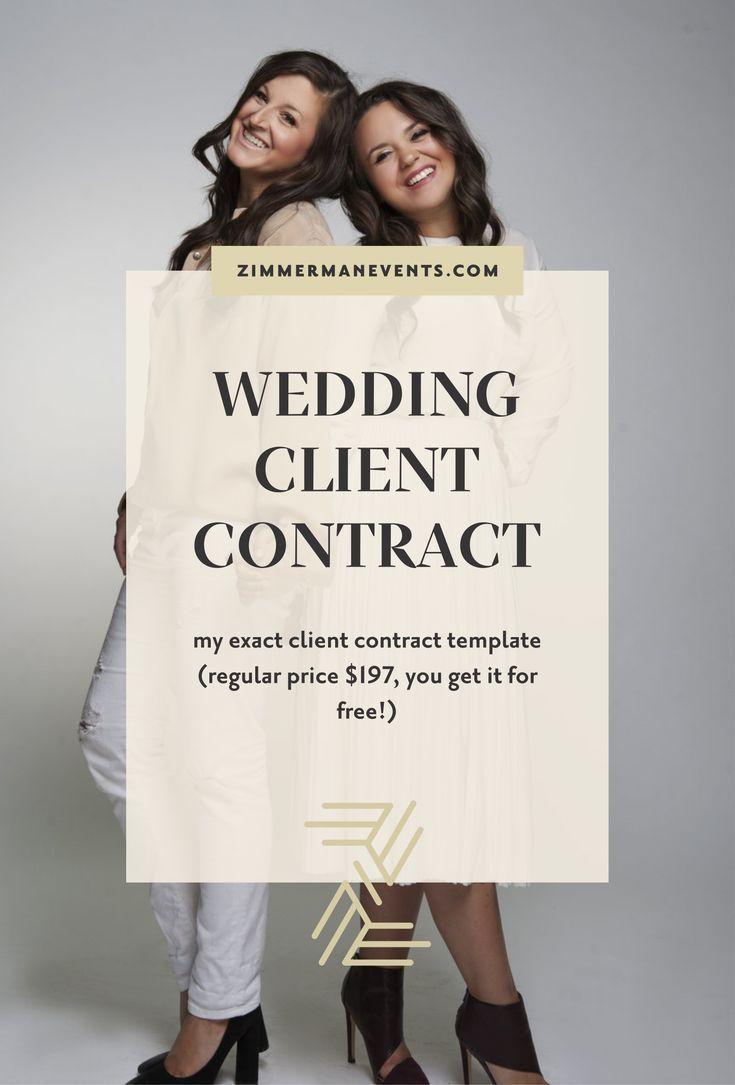 Free Wedding Client Contract For Vendors My Exact Template To Help You Send Out Contracts Your Clie