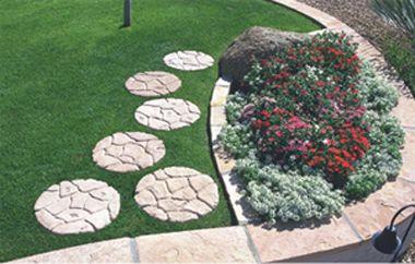 Concrete Landscape Stepping Stones   Outdoor Concrete Stepping .