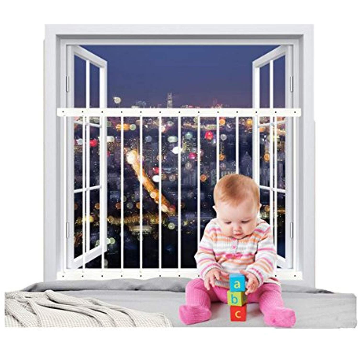Fairy Baby Removeable Child Safety Window Guards Indoor Fit 31 8 36 6 Inches Wide Read More Reviews Of The Product By Child Safety Baby Fairy Baby Proofing