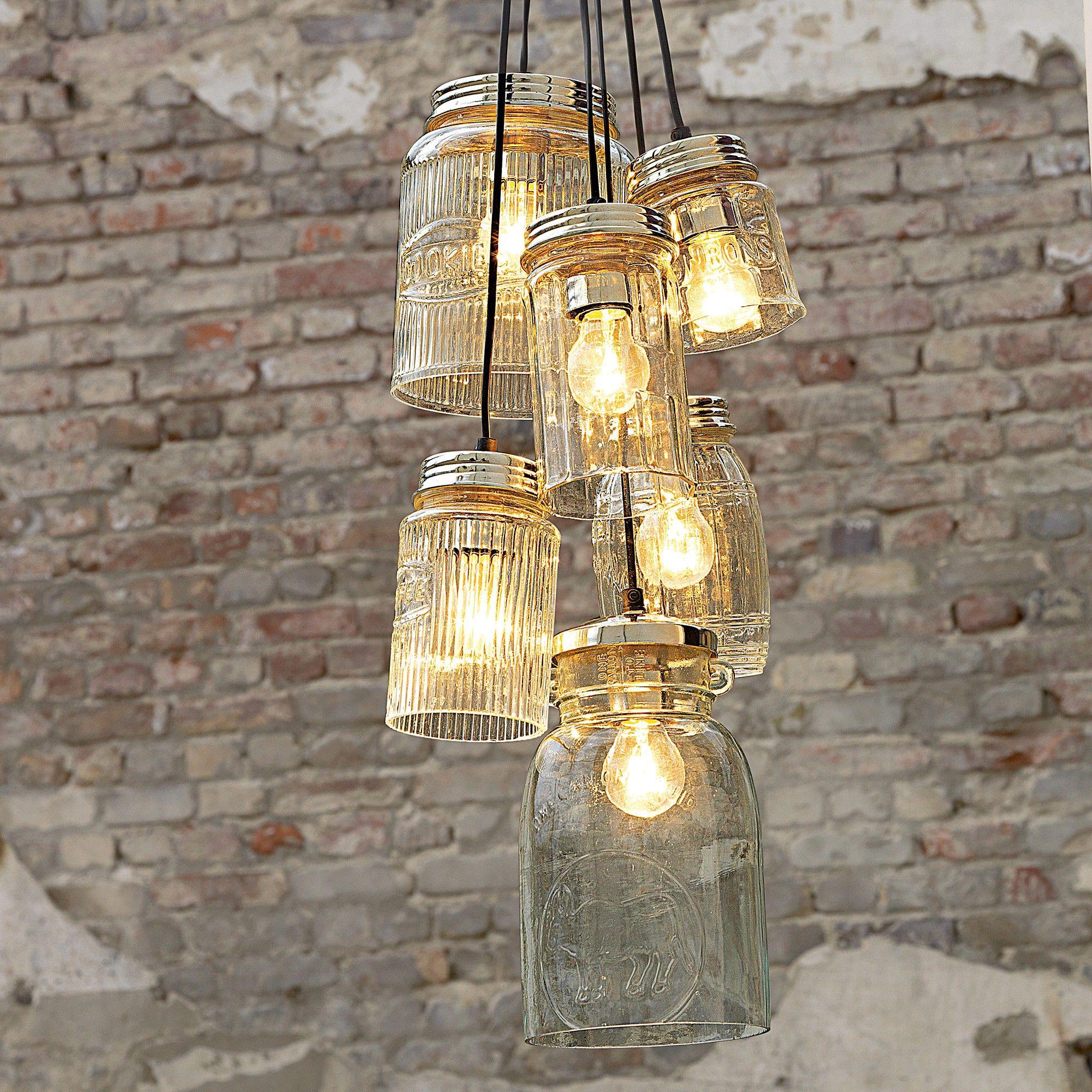 Vintage Lampe Deckenleuchte Design Rustikale Lampen