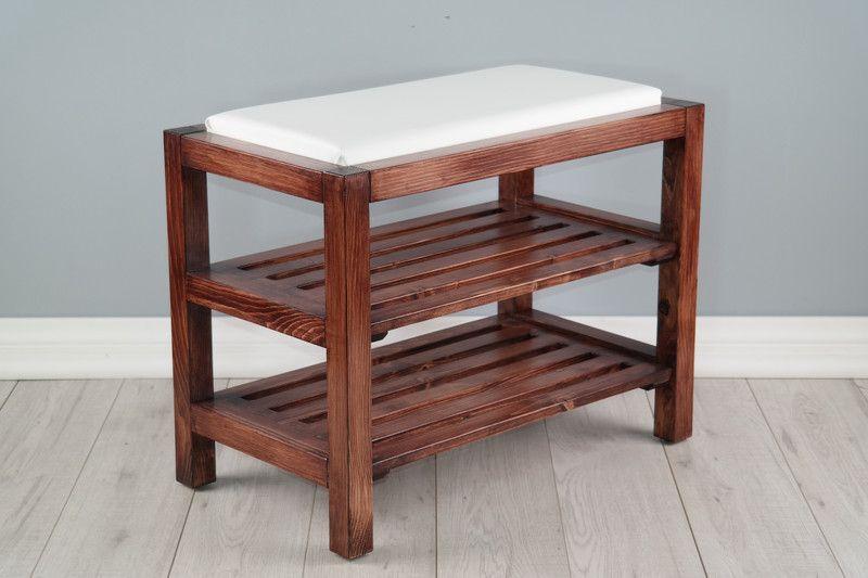 Polka Na Buty Z Siedziskiem Z Ekoskory Orzech 104 La Portofino Szafki Na Buty Furniture Home Decor Changing Table