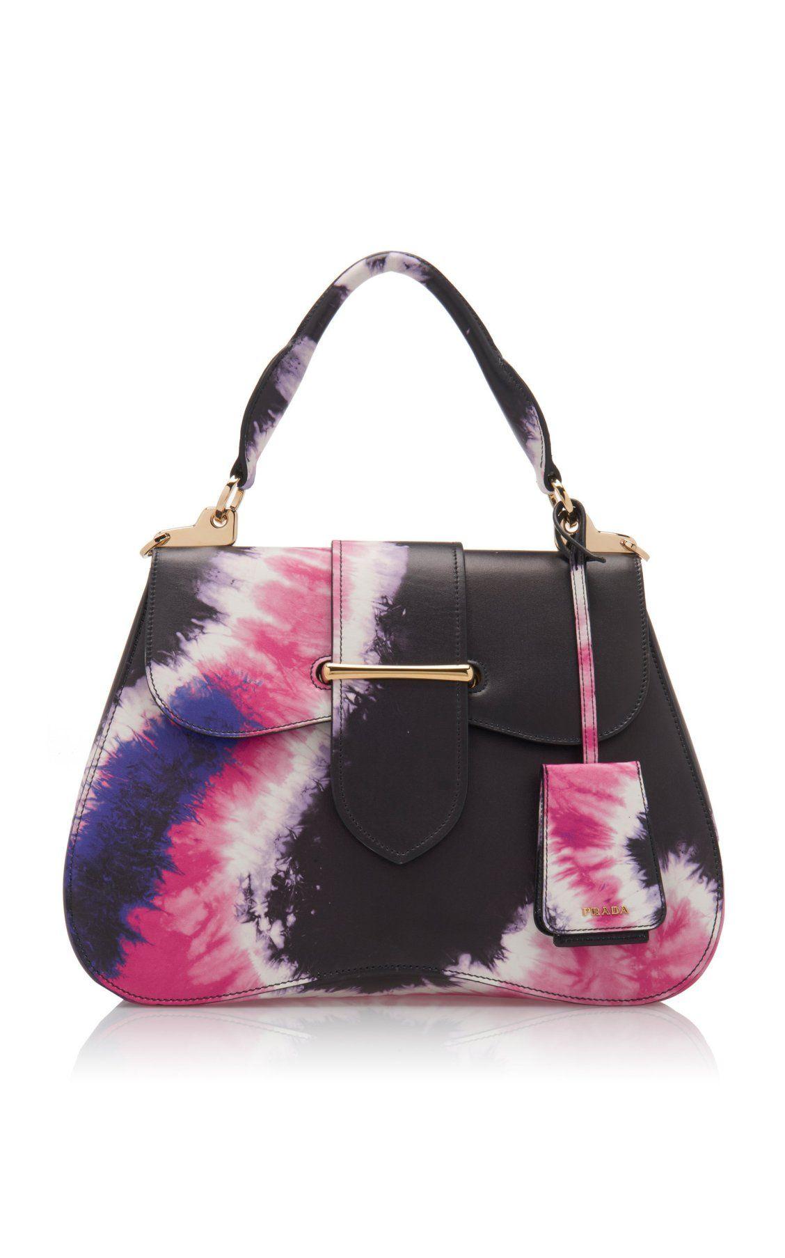 d690c55e2aa3 Large Tie-Dye City Calf Cartella Bag by Prada Spring/Summer 2019| Moda  Operandi