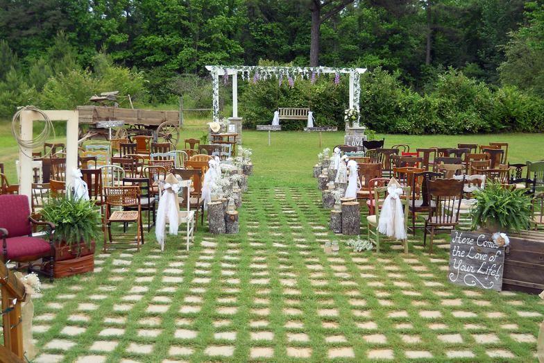Sedie matrimonio ~ Random chairs wedding aisle wedding  sedie